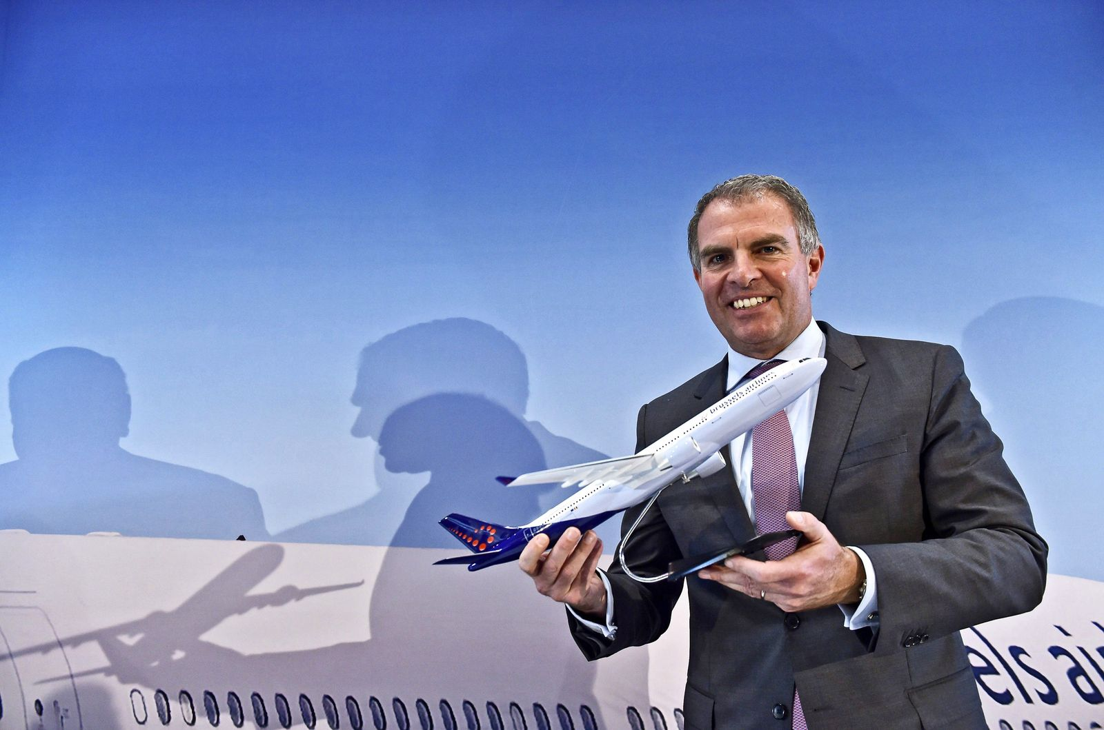 News conference of Brussels Airlines and Lufthansa