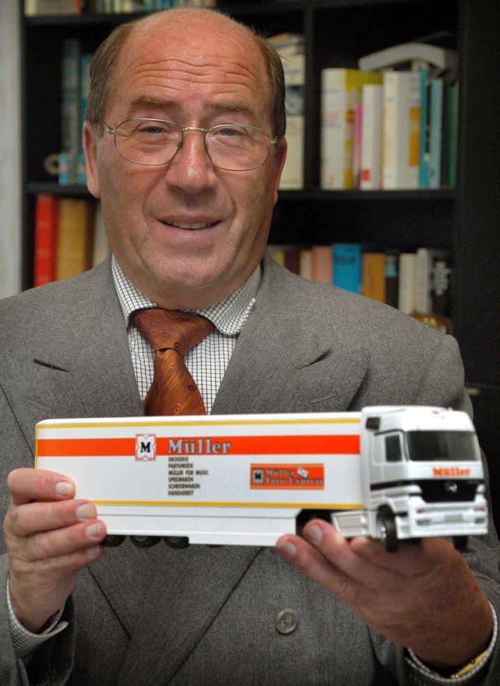 Erwin Müller - Sein Sohn hat im Familienunternehmen nicht viel zu melden