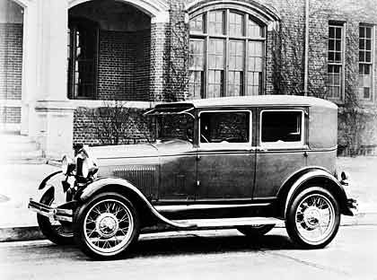 1928: Ford Modell A