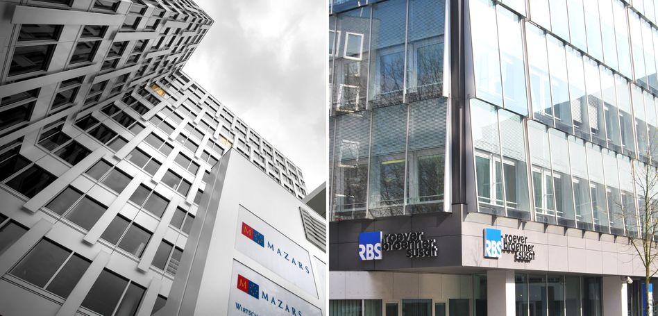 Wirtschaftsprüfer: Mazars und RBS bilden gemeinsam künftig die Nummer 8 auf dem deutschen Markt