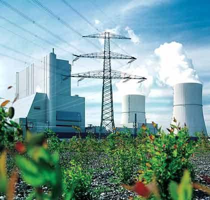 Kohlekraftwerk: Hoher Strompreis beunruhigt deutsche Unternehmen