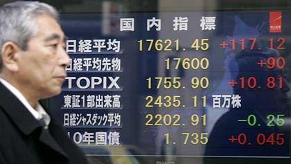 Börse Tokio: Die Kursentwicklung blieb zuletzt hinter der anderer Weltleitbörsen zurück