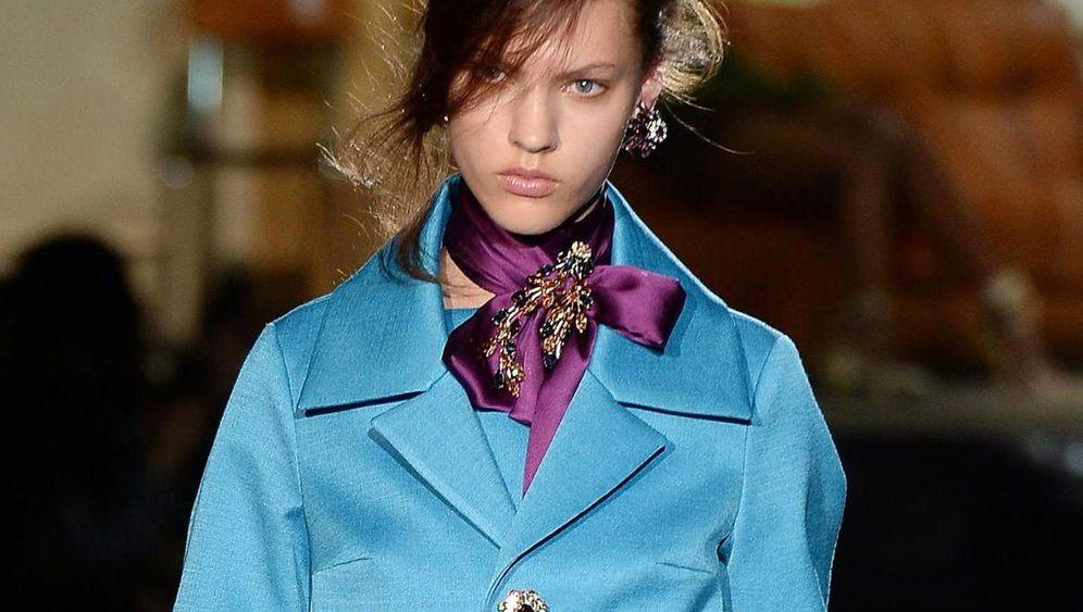 Abschluss der Mailänder Fashion Week: Mode aus dem Märchenland
