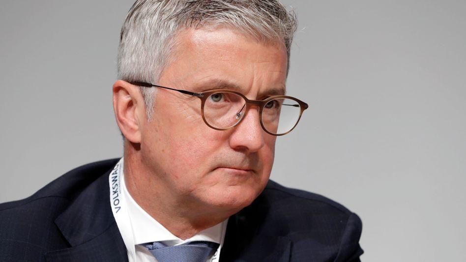 Rupert Stadler: Beschwerde gegen Untersuchungshaft