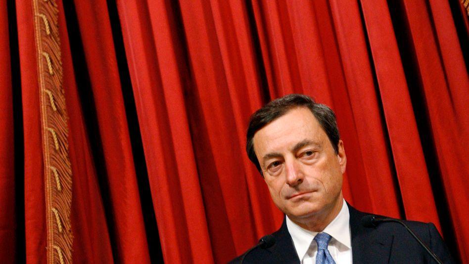 Mario Draghi: Mit großen Versicherungen beschäftigt sich der Rat später