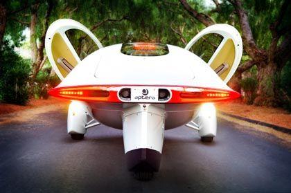 Futuristischer Flitzer: Sieht so das Auto der Zukunft aus?