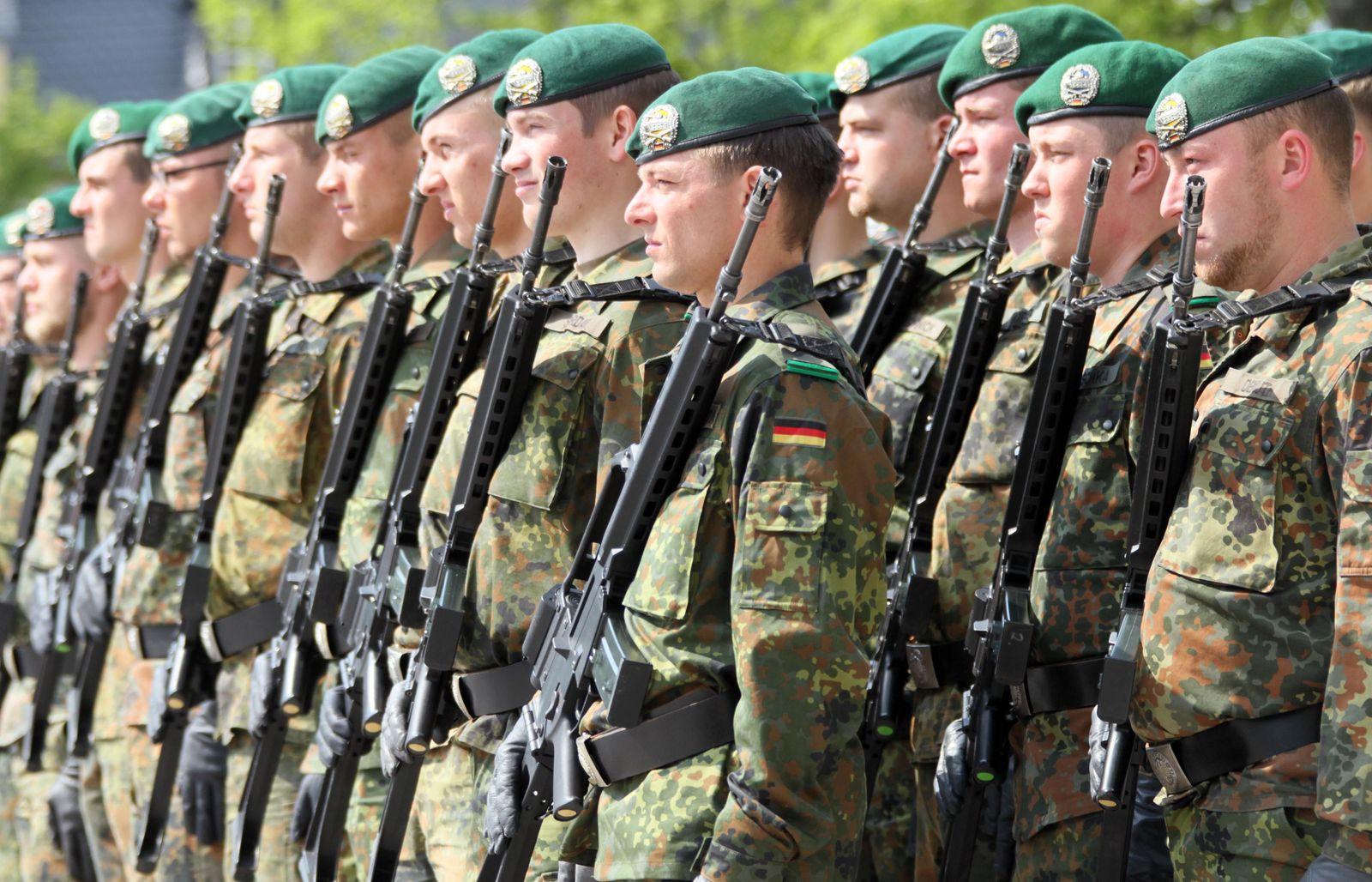 NICHT VERWENDEN Bundeswehr/Jubilaeen