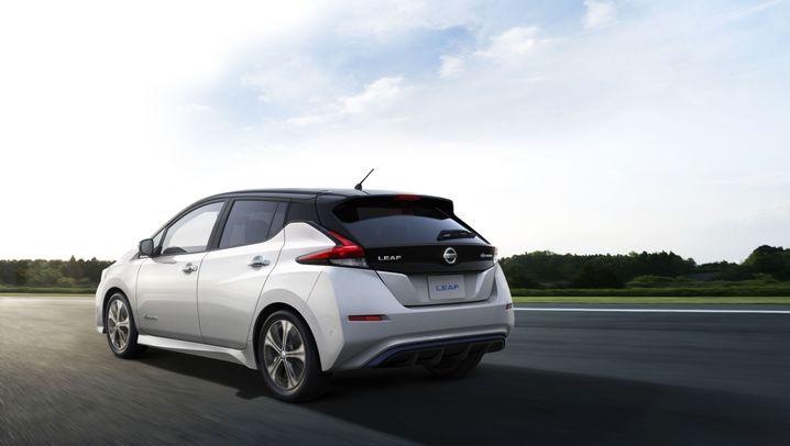 2. Generation des globalen Elektroauto-Bestsellers: So unterscheidet sich Nissans neuer Leaf von Teslas Model 3