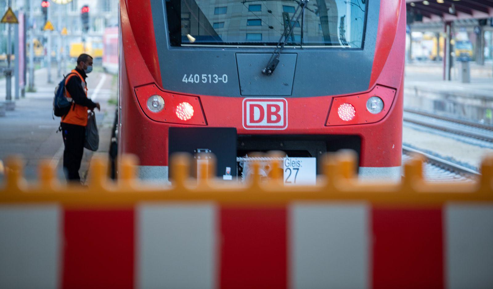 Lokführer-Streik im Personenverkehr · Ulm