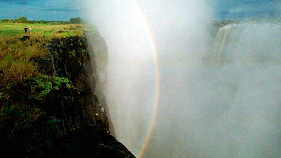 Victoria-Wasserfälle in Simbawe: Beliebtestes Touristenziel