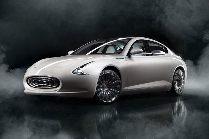 Limousinen-Prototyp von Thunder Power: Ende 2018 soll die Serienfertigung des Autos in China starten