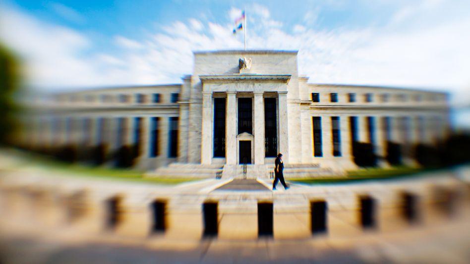 Federal Reserve in Washington: Zeitenwende in der Geldpolitik - Kryptowährungen wie Libra könnten zu einer Währung wachsen, die das Monopol der Notenbanken aufbricht