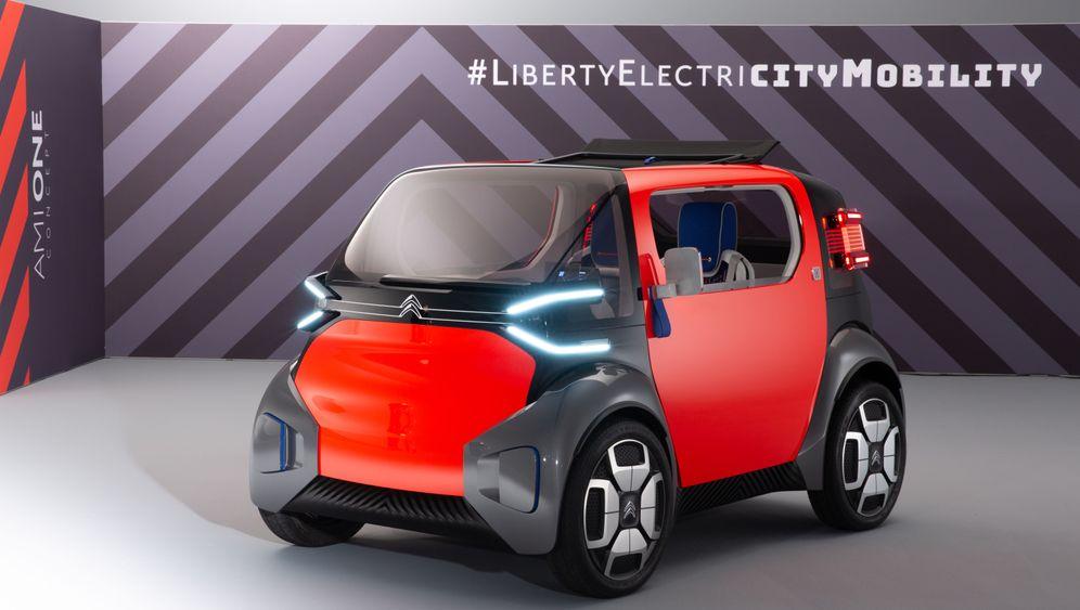 Citroën Ami One Concept: Elektro-Würfel für den Stadtverkehr