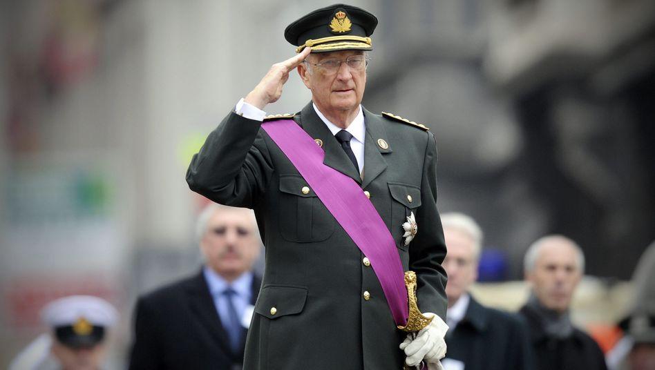Zum Sparen bereit: König Albert II. von Belgien