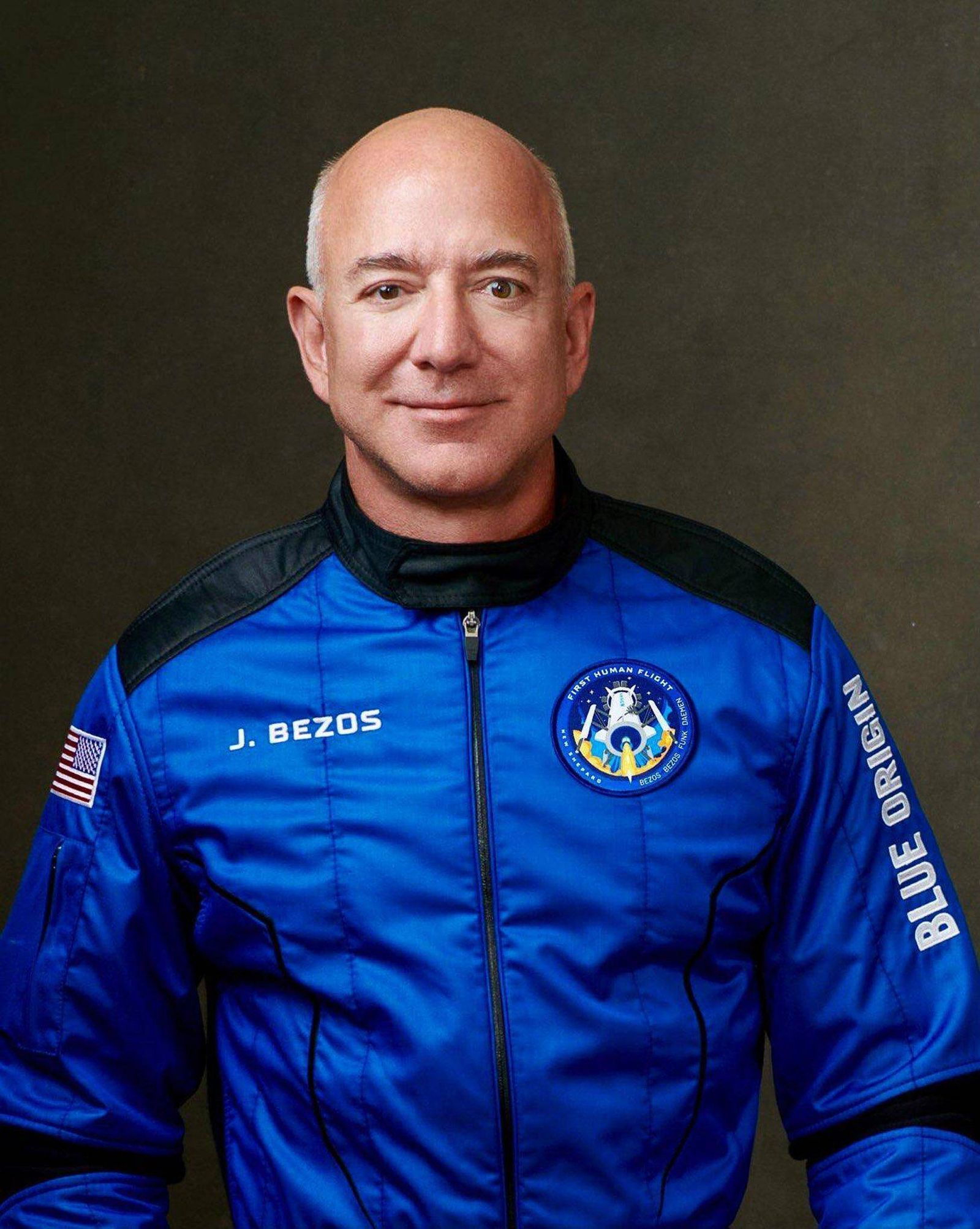 Amazon founder Jeff Bezos will be accompanied on the Blue Origin journey by his brother, Mark Bezos, as well as the old