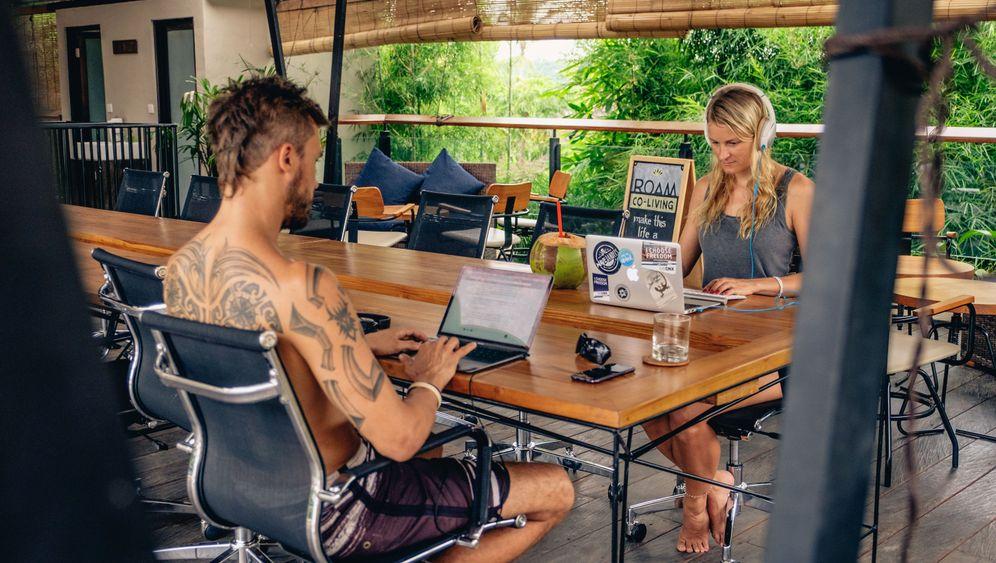 Digitale Nomaden: Leben, wo andere Urlaub machen