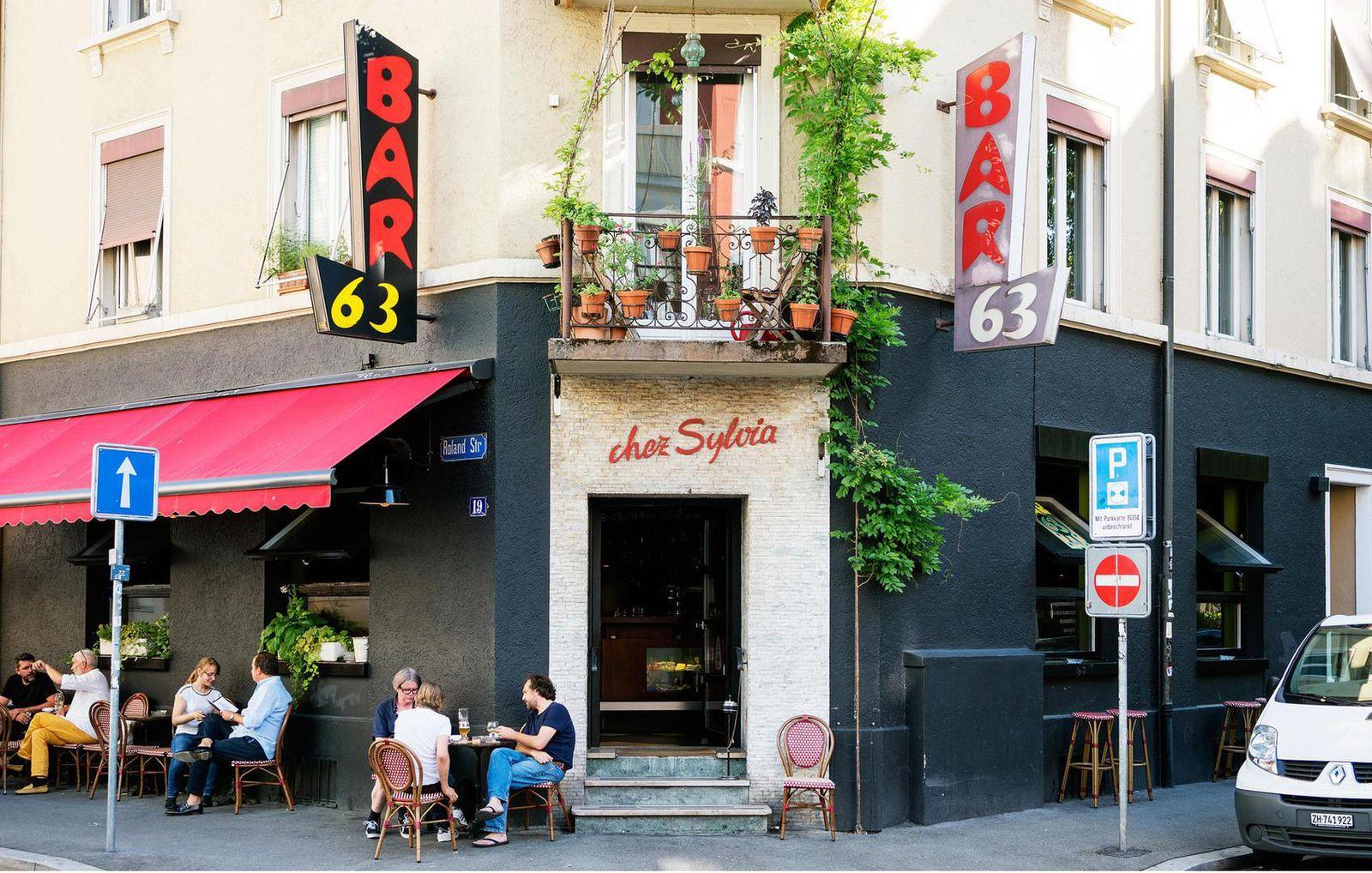 Bar 63 in Zürich