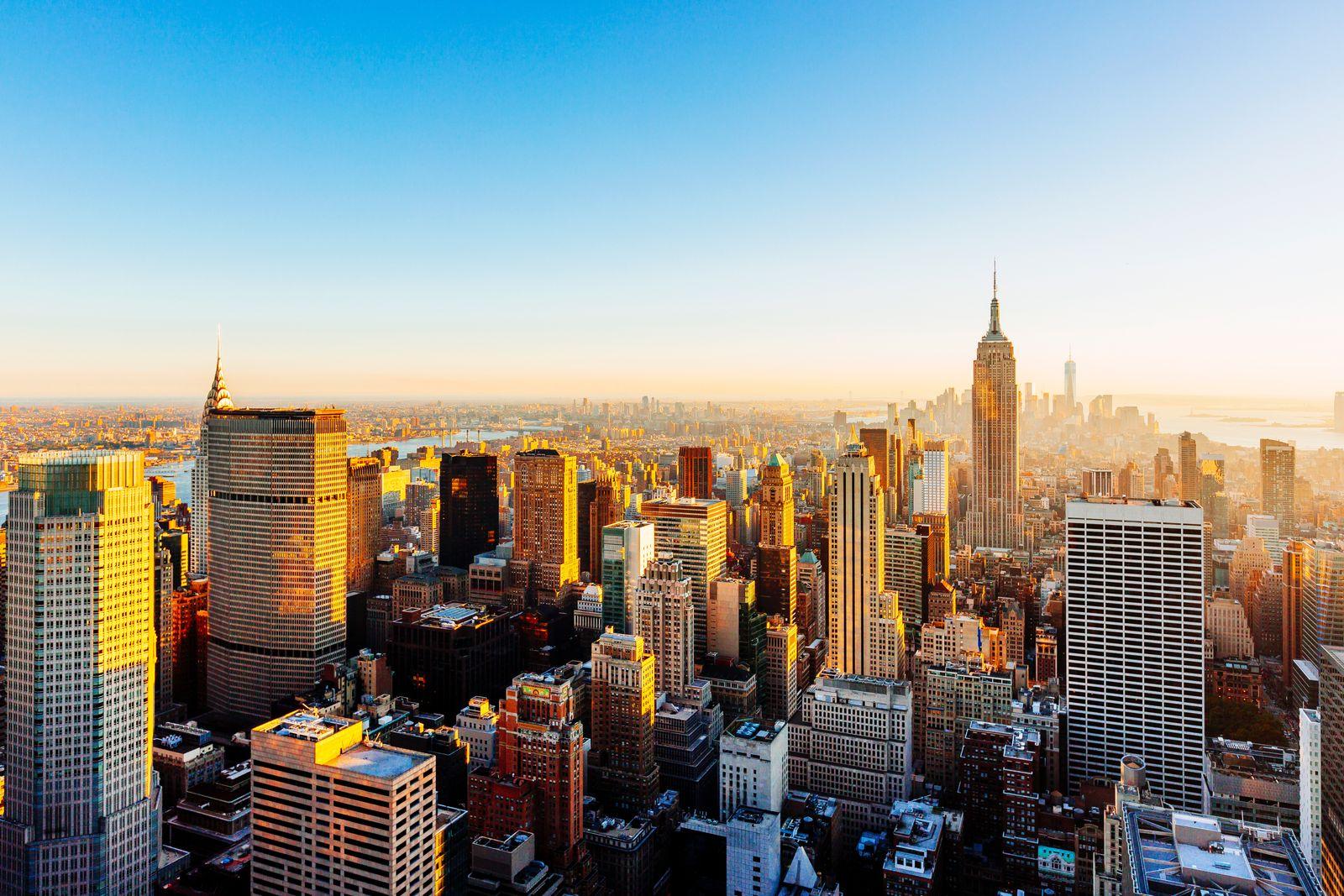 EINMALIGE VERWENDUNG New York City manhattan