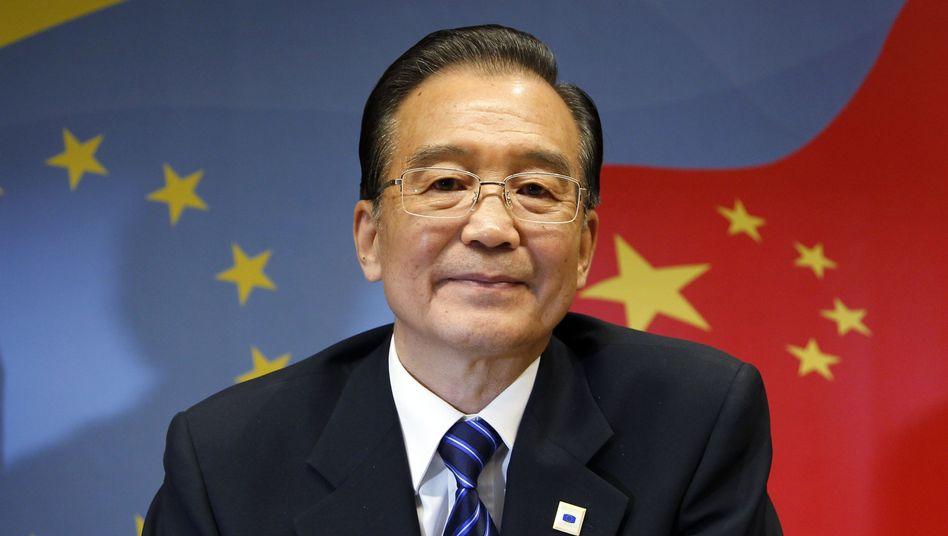 """Premier Wen nennt Chinas Wachstum """"nicht aufrecht zu erhalten"""""""