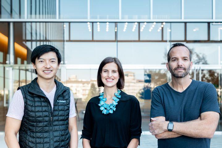 Von Google zum Fintech: Die drei Gründer von Upstart wollen den Prozess der Kreditvergabe revolutionieren