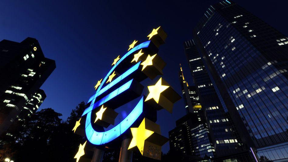 Der Euro: Symbol für Europas Probleme