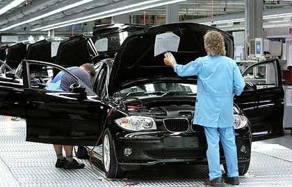 Dank neuer Modelle wie dem 1er knackte die Marke BMW schon alleine die Absatzmillion