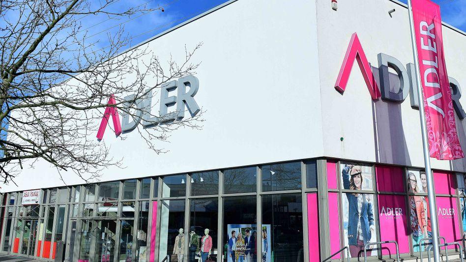 Einkaufsgelegenheit: Die Modekette Adler wechselt den Besitzer