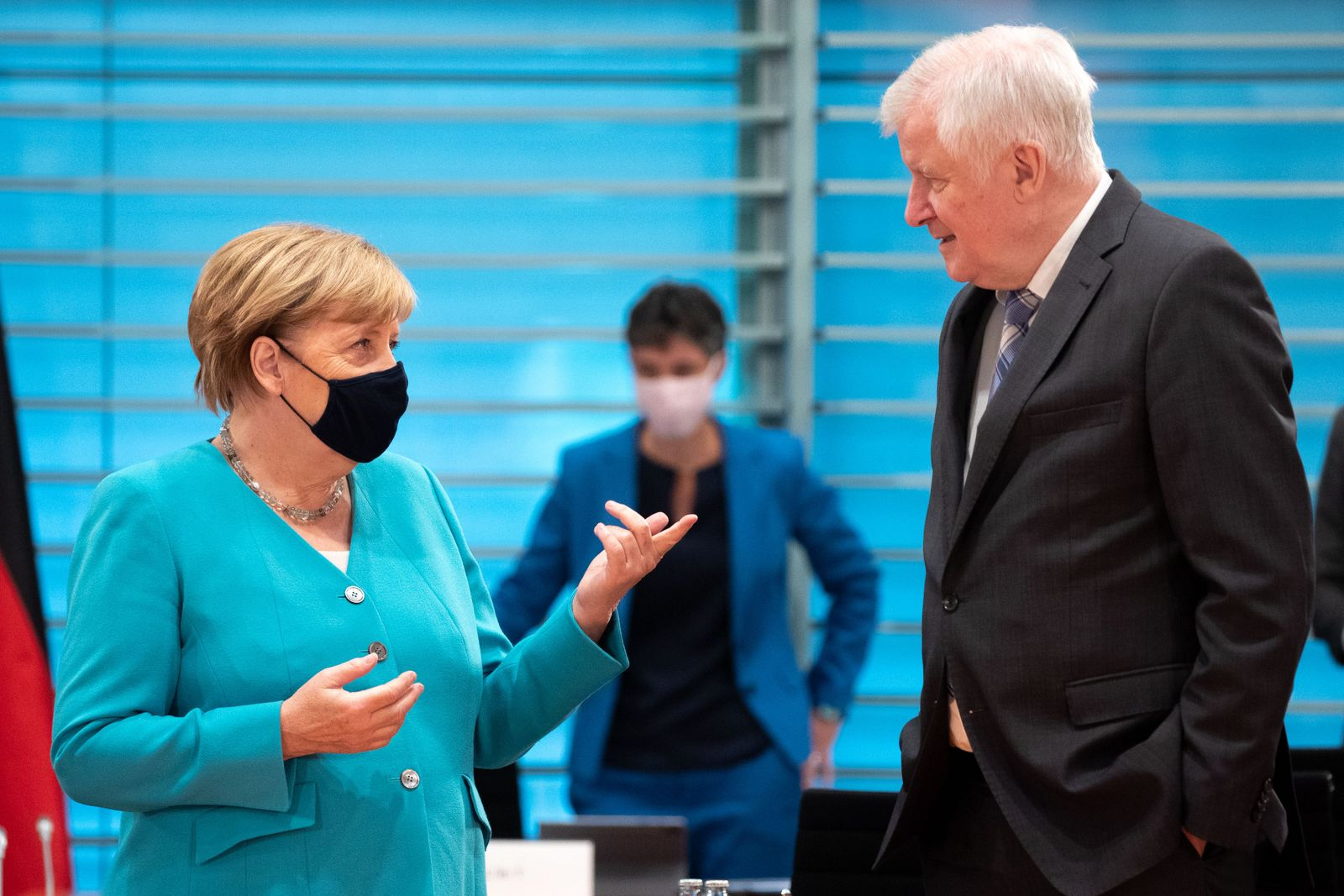 German cabinet committee on Combating Right-Wing Extremism and Racism, Berlin, Germany - 02 Sep 2020