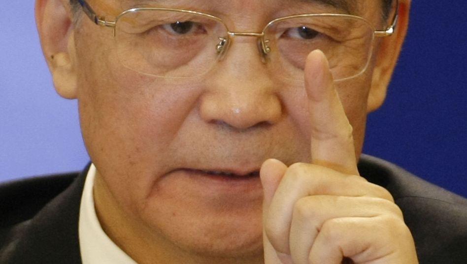 Pleitewelle bei Aufwertung: Chinas Ministerpräsident Wen Jiabao