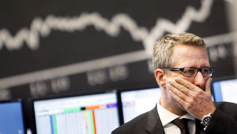 Börse in Frankfurt: Der Dax hat zuletzt deutlich nachgegeben