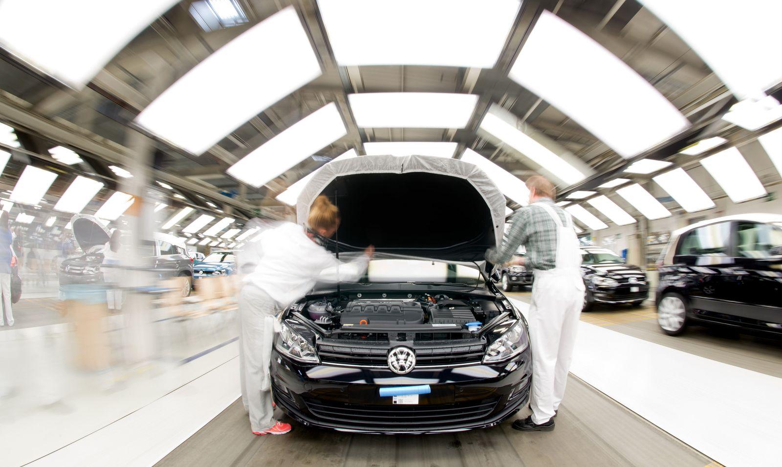 Deutschland / Konjunktur / VW / Produktion
