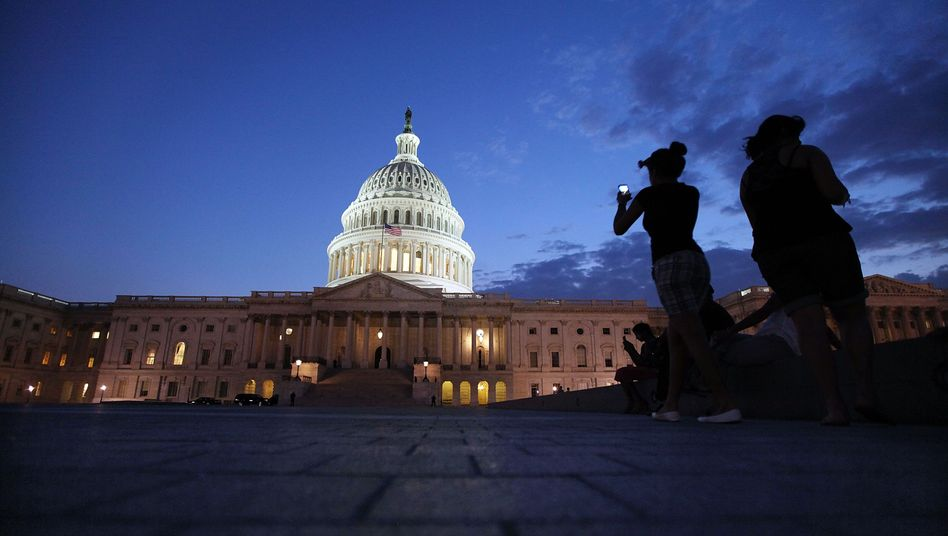Kapitol in Washington: Im Senat haben die Demokraten die Mehrheit