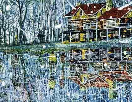 "Peter Doig, ""Pond Life"", 1993"