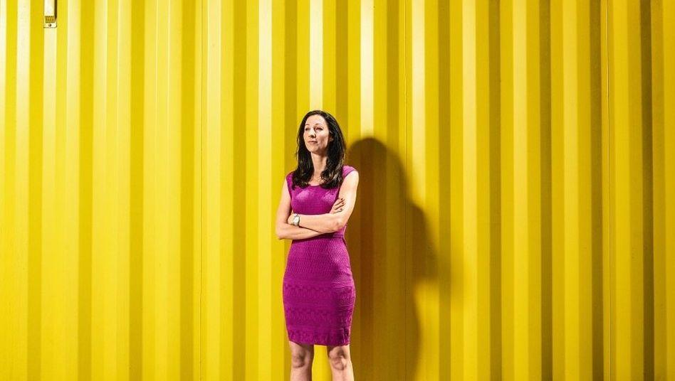 """Solistin: Bei Delivery Hero lief Doreen Huber als einzige Topmanagerin """"im Wolfsrudel"""" mit. Jetzt baut sie ein eigenes Start-up auf, mit etlichen Frauen."""