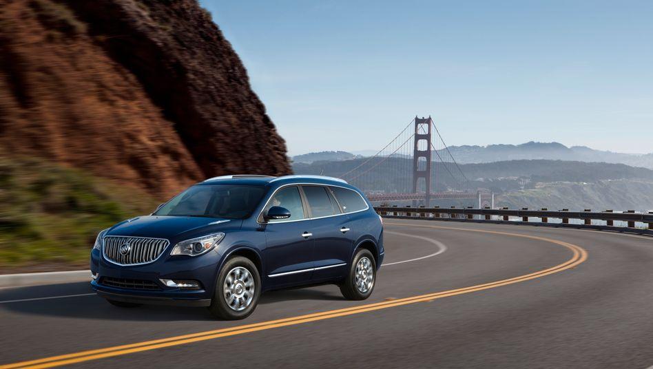 Buick Enclave: Die Tochter von GM bedient sich gerne bei Opel - diesmal könnte es umgekehrt laufen. Allerdings ist der Enclave mit 5,1 Metern doch etwas groß