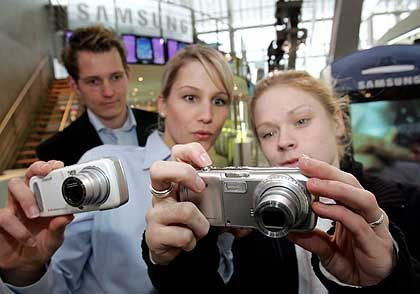 Vorn Kamera, hinten Handy: Handyvariante von Samsung