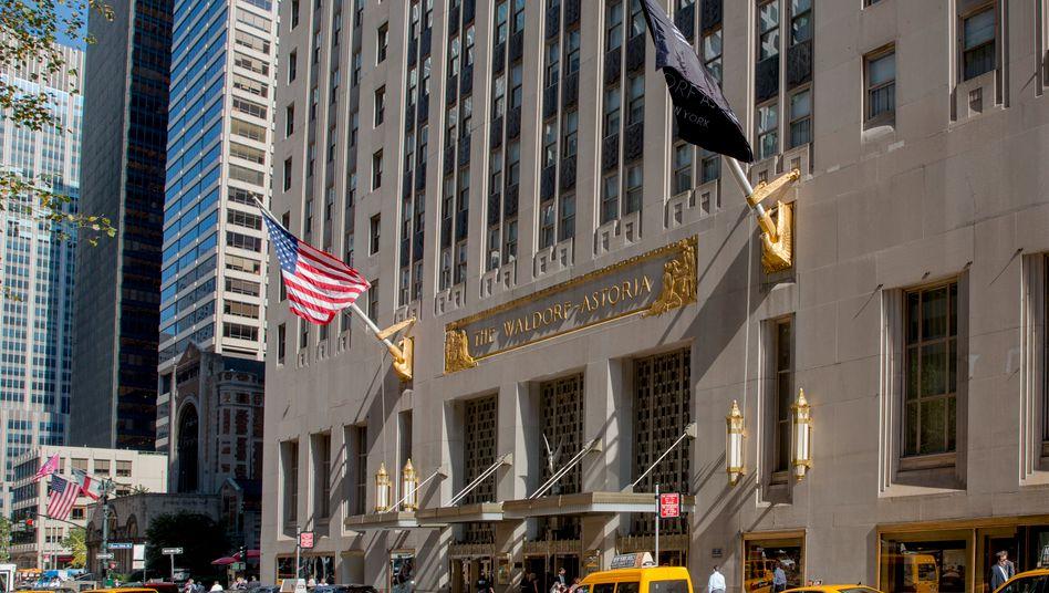 Waldorf Astoria in Manhattan, New York: In wenigen Jahren vor allem Luxus-Apartments statt Hotelzimmer? So sieht es aus