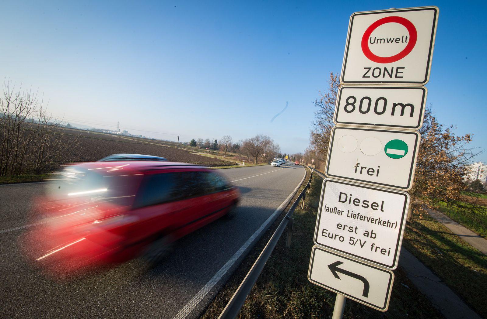 Diesel-Fahrverbot / Umweltzone / Stuttgart