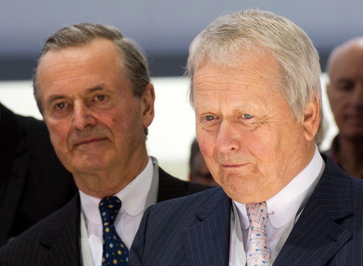 Durchatmen bei den Anteilseignern Hans Michel Piëch und Wolfgang Porsche: Volkswagen kam glimpflich durch die Krise