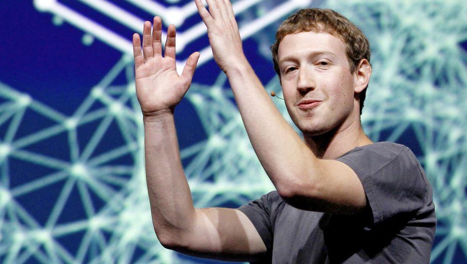 Facebook-Gründer Mark Zuckerberg dürfte der Börsengang zu einem der reichsten Menschen der Welt machen
