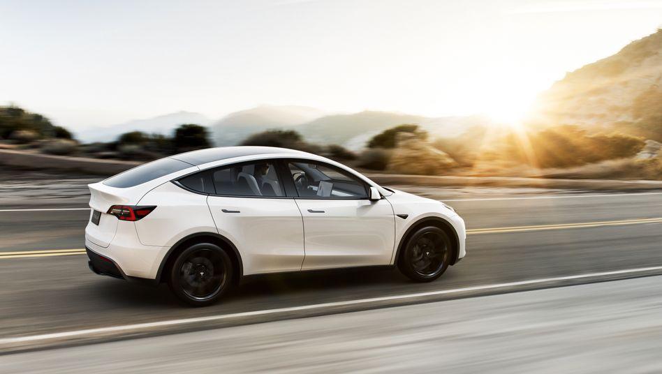 Tesla Model Y: Dieses Modell könnte der US-Autobauer in Brandenburg bauen
