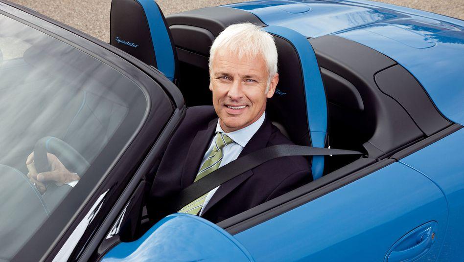 """Porsche-Chef Matthias Müller: """"Der Hype um Elektroautos ist verflogen"""""""