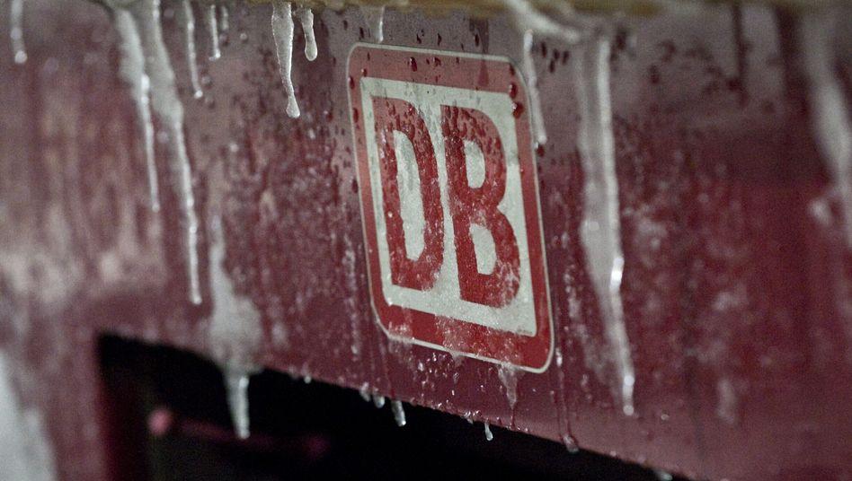 Verspätungen und Ausfälle: Der vergangene Winter setzte der Deutschen Bahn arg zu