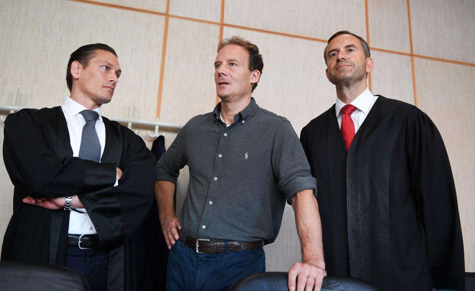 Prozess gegen Unternehmer Falk