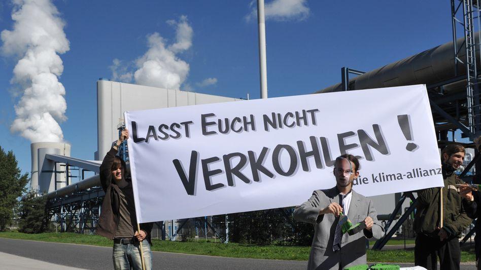 Protest gegen die Verpressung von Kohlendioxid: Vattenfall stößt an vielen Fronten auf Widerstand