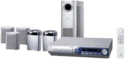 JVC TH-M303E: Kontrollcenter mit 5-DVD/CD-Wechsler und RDS-Tuner