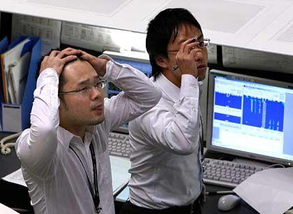 Börse in Tokio: Japanische Geldhäuser halten häufig Anteile ihrer Firmenkunden