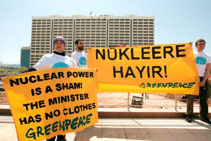 Protest gegen türkisches Atomkraftwerk: Die Türkei braucht mehr Strom
