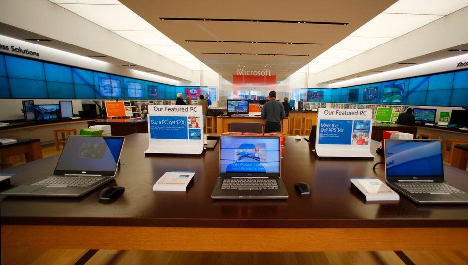 Microsoft-Shop in San Diego: Unternehmen mit Millionenstrafe belegt