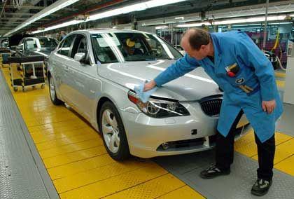 Nase vorn: Deutsche Autobauer wie BMW gelten als weltweit führende Innovatoren